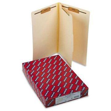 Smead End Tab Manila Classification Folders - Legal - 8