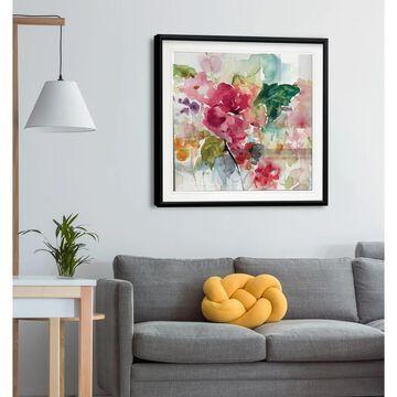 Citrus Floral Punch -Framed Giclee Print