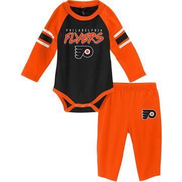 NHL Infant Philadelphia Flyers Onesie and Pant Set