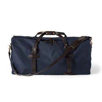 Filson Large Rugged Twill Duffel Bag (Navy)