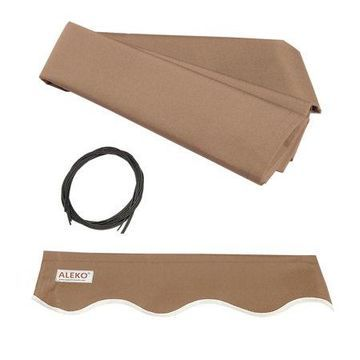 ALEKO 16'x10' Retractable Awning Fabric Replacement, Sand Color
