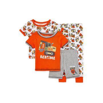Rene Rofe Boys Club Boys 4-pc. Pajama Set Toddler