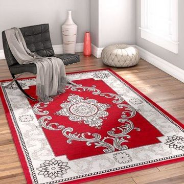 Well Woven Ash Yonderhill Modern Red Area Rug