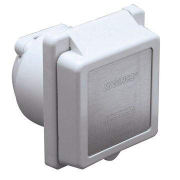 MARINCO 301EL-B 30A 125V POWER INLET WHITE