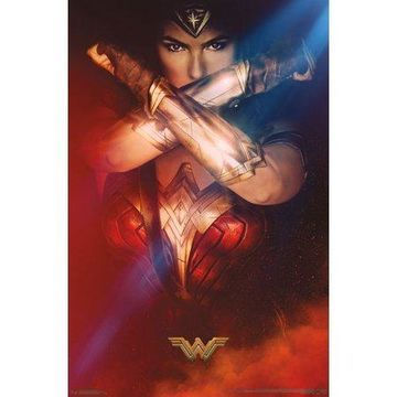 Trends International Wonder Woman Bracelets Wall Poster 22.375