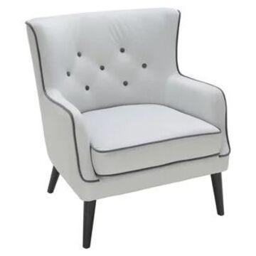 LumiSource Sedgewick Grey Accent Chair (Grey)