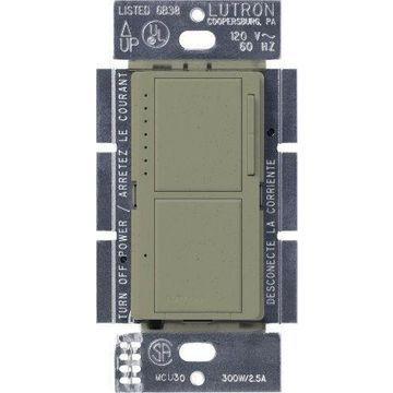 MA-L3S25-GB Maestro 300-Watt Single-Pole Digital Dimmer 2.5 Amp On/Off Switch