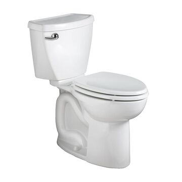 American Standard Cadet 3 White WaterSense Round Chair Height 2-Piece Toilet 12-in Rough-In Size (ADA Compliant)
