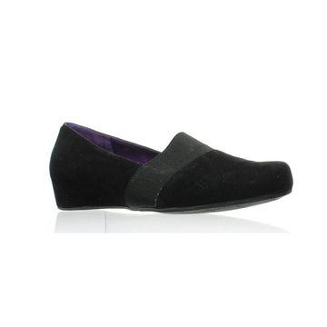 VANELi Womens Mambo Black Heels Size 10