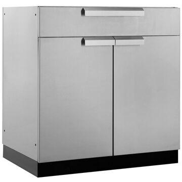 NewAge Products Modular Outdoor Kitchen Oudoor Kitchen Modular Prep Station Stainless Steel
