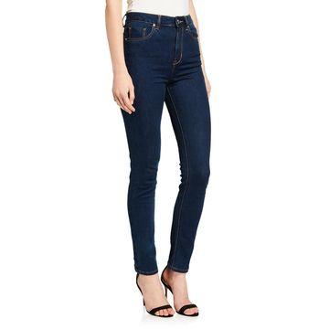 Big Turn Up Straight Leg Jeans
