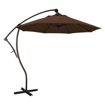 California Umbrella 9' Cantilever Umbrella in Teak