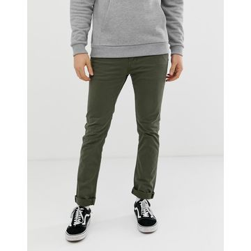 Nudie Jeans Co Slim Adam chinos in bunker green