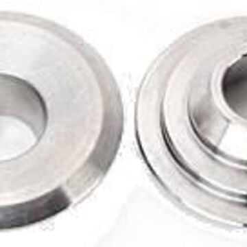 23648-16 10 deg Titanium Valve Spring Retainers - 16 - 1.580 in. & 1.610 in. dia. Double Springs - Plus 100 in. Height Installed