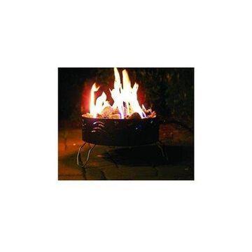 "Camco 58041 Portable Campfire with 8' Hose and Regulator - Features a 14.5"" Diameter"