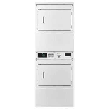 Whirlpool 7.4-cu ft Gas Commercial Dryer (White)   CSP2971HQ
