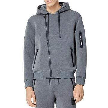 The Kooples Asymmetrical Zip Hoodie