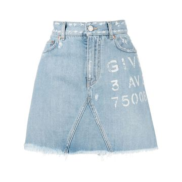 Givenchy Skirts Clear Blue