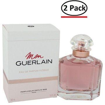Mon Guerlain Florale by Guerlain Eau De Parfum Spray 3.4 oz for Women (Package of 2)
