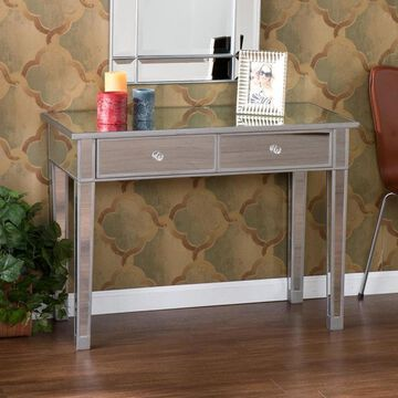 Boston Loft Furnishings Impression Mirrored Glam Console Table