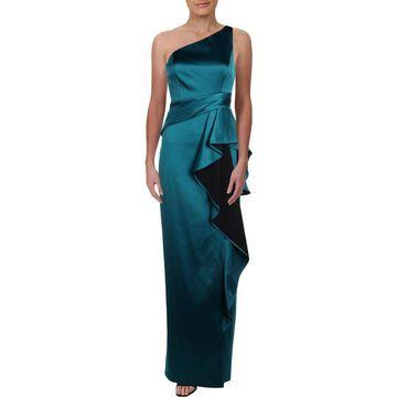 Aidan Mattox Womens Formal Dress Ruffled One-Shoulder - 2