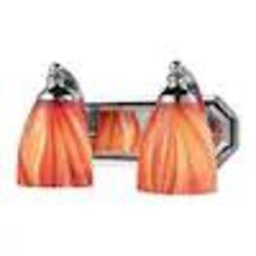 Westmore Lighting Homestead 2-Light Chrome Traditional Vanity Light Bar