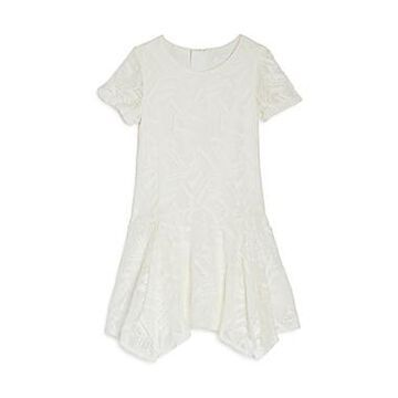 Chloe Girls' Lace Handkerchief Dress - Little Kid, Big Kid