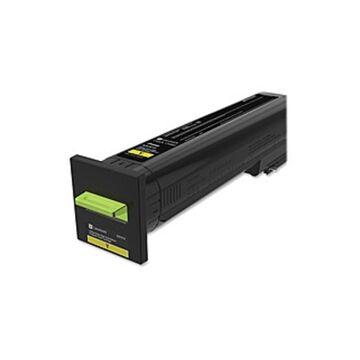 Lexmark Original Toner Cartridge - Laser - Extra High Yield - Yellow - 1 Each