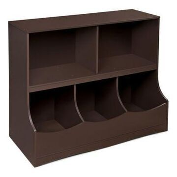 Badger Basket 5-Compartment Cubby in Espresso