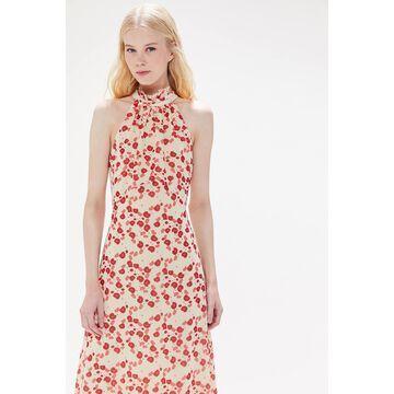 Keepsake Charmed High Neck Halter Maxi Dress