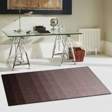 Superior Faded Hand Woven Wool Area Rug