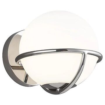 Apollo Wall Sconce by ED Ellen DeGeneres - Color: Silver - Finish: Polished Nickel - (EW1031PN)