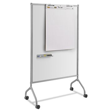 Safco Impromptu Magnetic Whiteboard Collaboration Screen, Gray