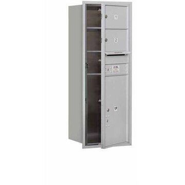 Salsbury Industries 4C Horizontal Mailbox 12-Door High Unit (44.5