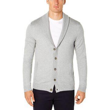 Tasso Elba Mens Shawl Collar Cardigan Sweater