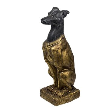 A&B Home 30.9-in H x 14.2-in W Black Animal Garden Statue | D76849-BKGD