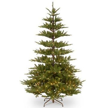 National Tree Company 7.5-Foot Glenwood Fir with Clear Lights