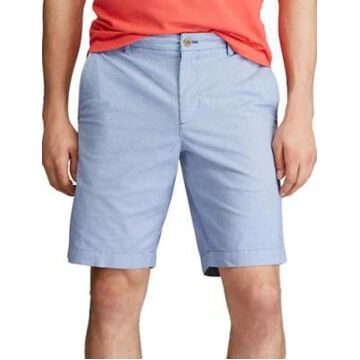Chaps Men's Stretch Micro-Houndstooth Flat Front Shorts - -
