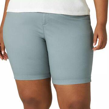 Plus Size Lee Chino Bermuda Shorts, Women's, Size: 22 - Regular, Grey