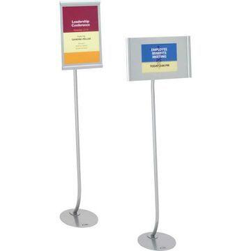 Quartet 59660 Adjustable Landscape/Portrait Sign Stand