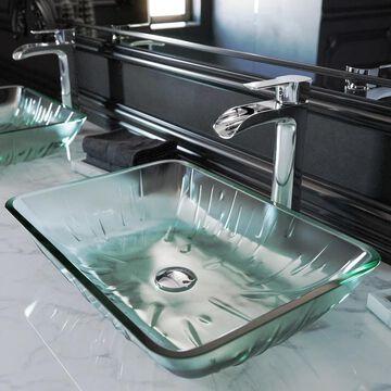 VIGO Niko Chrome Vessel Bathroom Faucet