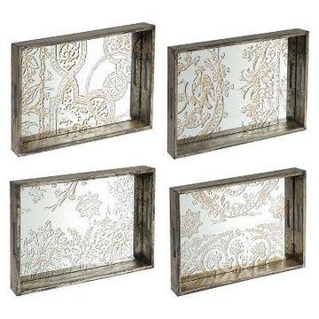 Decorative Trays - Set of 4 - A&B Home