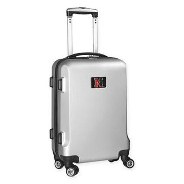 Northeastern University 20-Inch Hardside Carry On Spinner in Silver