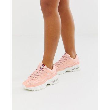 Skechers Energy wavey sneakers in rose-Pink