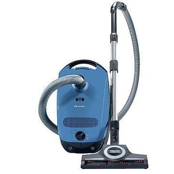 Miele Classic C1 Turbo Team Tech Blue Canister Vacuum