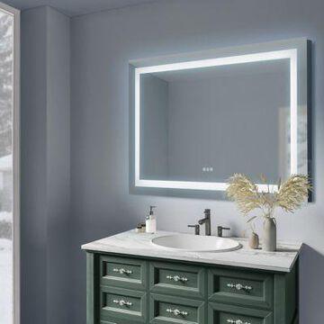 Sunjoy Luxury LED Mirror, 48 in. x 32 in., C109005000