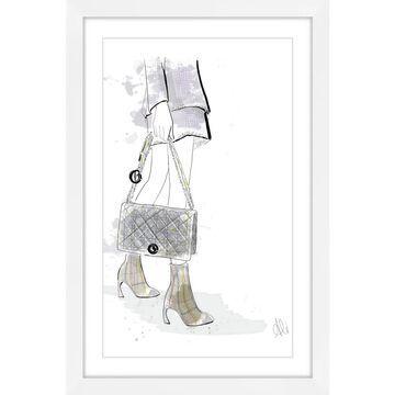 Marmont Hill - Handmade Bonjour Framed Print