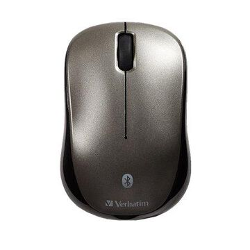 Verbatim Bluetooth Wireless Multi-Track LED Mouse for Tablet , Graphite