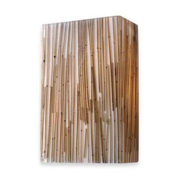 ELK Lighting Modern Organics 2-Light Sconce in Bamboo