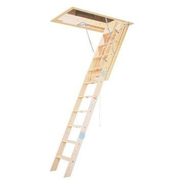 Werner 10' Wooden Attic Ladder